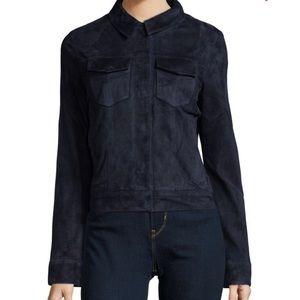 J Brand Ethel suede jacket